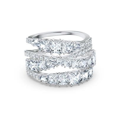 Swarovski Twist Ring