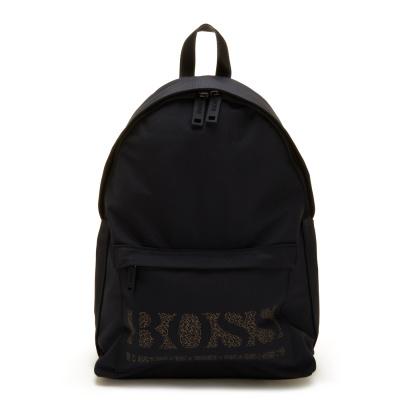 BOSS Magnified Black Rugzak 50457027-001