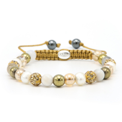 Karma Spiral Sunlight Armband 83757 (Lengte: 17.50 - 19.00 cm)