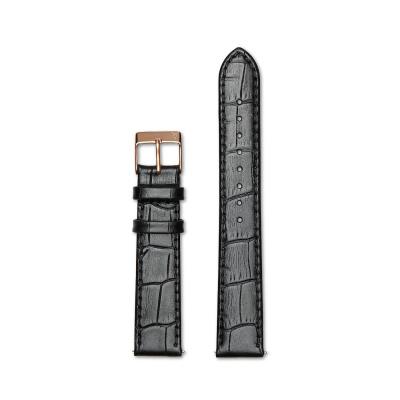 Renard Elite 35.5 Strap 18 mm Croco Zwart R18R1CBK