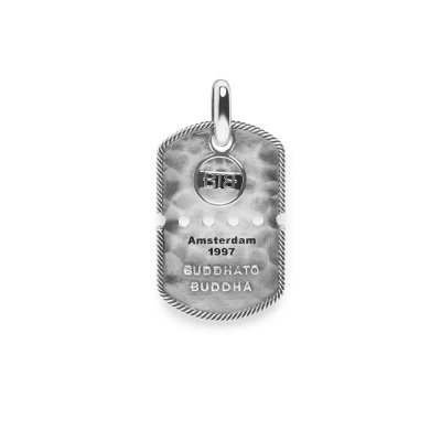 Buddha to Buddha 925 Sterling Zilveren Heritage Army Tag Hanger BTB667ONE