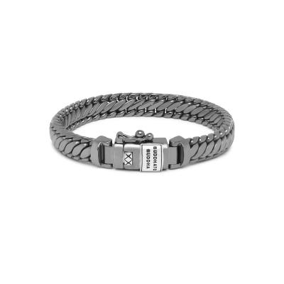 Buddha to Buddha Black Rhodium Heritage Ben XS Armband BTBJ070BRSS (Lengte: 17.00-21.00 cm)