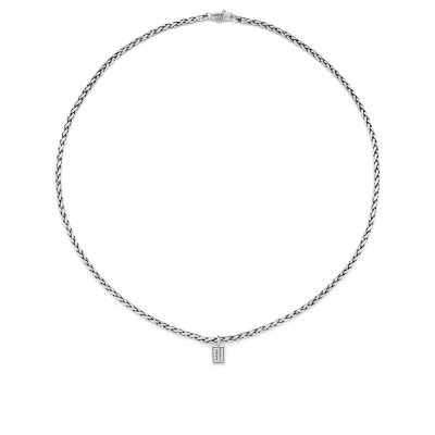 Buddha to Buddha 925 Sterling Zilveren Heritage George XS Ketting BTB718 (Lengte: 60.00 cm)