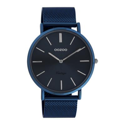OOZOO Vintage Blauw horloge C20015 (44 mm)