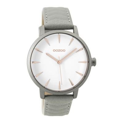 OOZOO Timepieces Grijs horloge C9506 (40 mm)