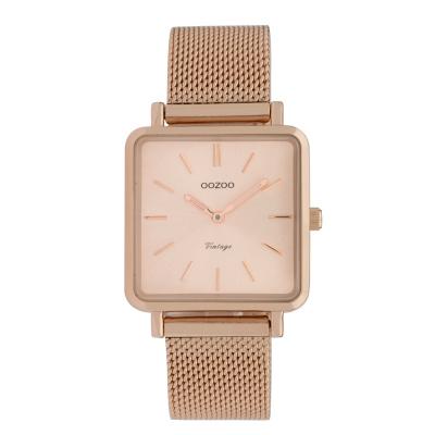 OOZOO Vintage Rosegoudkleurig horloge C9847 (29 mm)