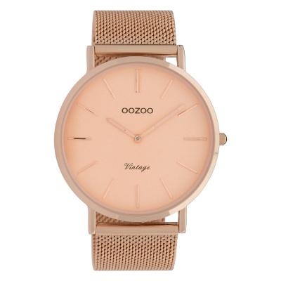 OOZOO Vintage Rosegoudkleurig horloge C9920 (44 mm)