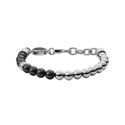 Diesel Beads Heren Armband van Roestvrij Staal DX1323040 (Lengte: 18.00 - 19.50 cm)