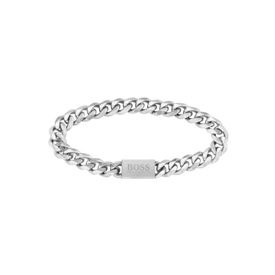 BOSS Chain For Him Armband HBJ1580144M (Lengte: 19.00 cm)