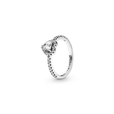 Pandora Stories 925 Sterling Zilveren Heart Ring 198421C01