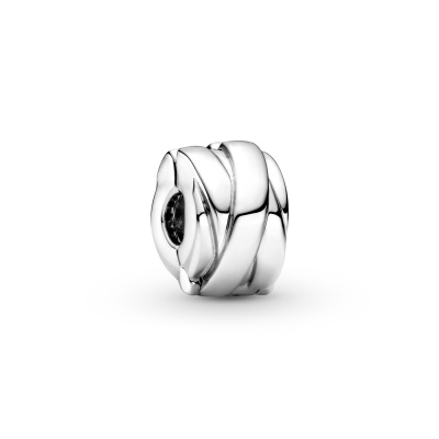 Pandora Passions Polished Ribbons Clip Bedel 799502C00