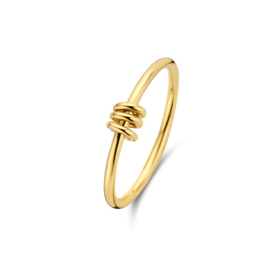 Isabel Bernard Belleville Belle 14 Karaat Gouden Ring IB330013