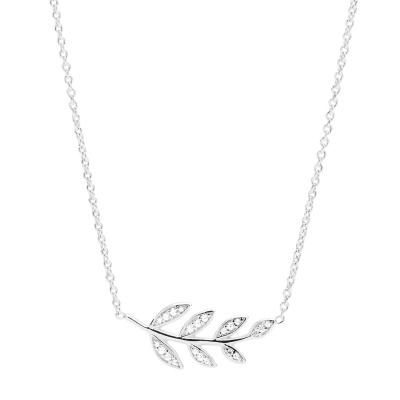 Fossil 925 Sterling Zilveren Ketting JFS00485040 (Lengte: 40.00 cm)