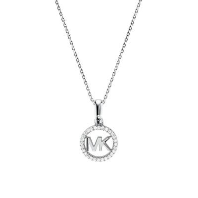 Michael Kors Zilveren Custom Ketting MKC1108AN040 (Lengte: 46.00-51.00 cm)
