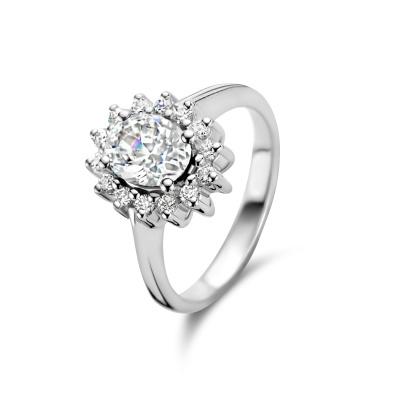 Parte Di Me Mia Colore Bianca 925 Sterling Zilveren Ring PDM33018