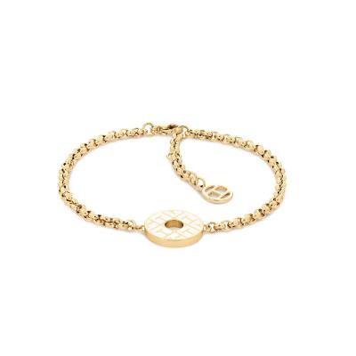 Tommy Hilfiger Goudkleurige Armband TJ2780482 (Lengte: 20.00 cm)