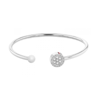 Tommy Hilfiger Zilverkleurige Armband TJ2780570 (Lengte: 19.00 cm)