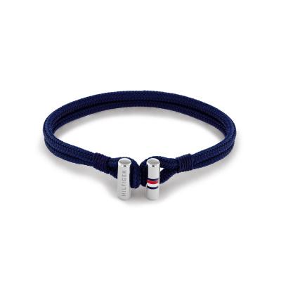 Tommy Hilfiger Blauwe Armband TJ2790337 (Lengte: 21.00 cm)