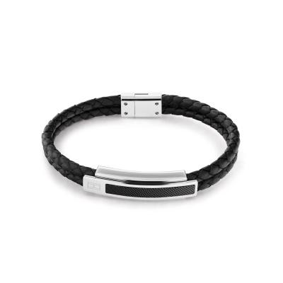 Tommy Hilfiger Zwarte Armband TJ2790357 (Lengte: 21.00 cm)
