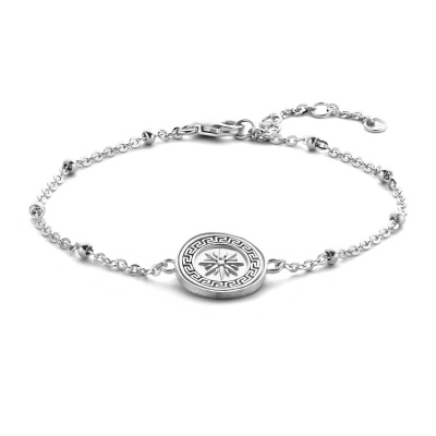 Violet Hamden Athens 925 Sterling Zilveren Armband VH320008 (Lengte: 16.00-19.00 cm)