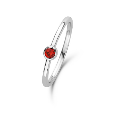 Violet Hamden Venus January 925 Sterling Zilveren Ring Met Geboortesteen VH330007JAN