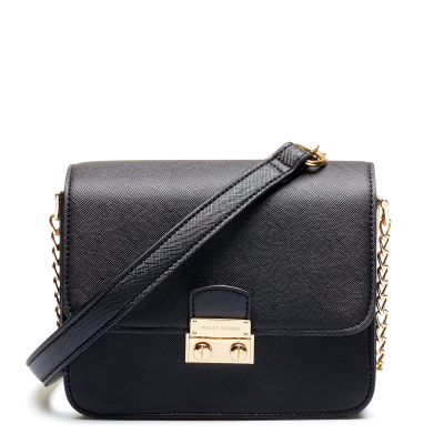 Violet Hamden Essential Bag Midnight Black Mini Crossbody VH30001